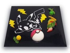 Pikachu Cafe in Japan Serves Pokémon Food. There is currently a limited-time official Pikachu Cafe in Tokyo! It serves Pikachu themed dishes including Pikachu burgers, rice, curry, parfait, fancy desserts and more! Spice Cafe, Cafe Japan, Pikachu, Pokemon Starters, Burgers And More, Cute Bento, Fancy Desserts, Happy Foods, Cafe Food
