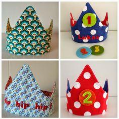 DE KROONIk maakte een handleiding met fotos, handig voor beginnende naaisters. De kroon is niet...