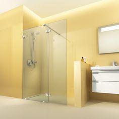 Wenn du eine praktische Ecke für deine Dusche hast, kannst du sie geschickt mit einer einfachen Glaswand vom Bad abgrenzen. Praktisch: Der Raum wirkt weiterhin groß. Mehr Empfehlungen zu begehbaren Duschen findest du unter www.wohn-dir-was.de Bildmaterial: (c) Artweger