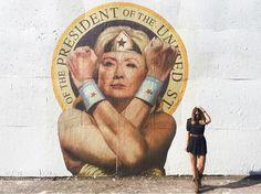 Hillary Clinton stre