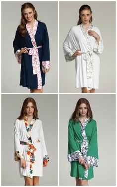 bridal robes from doie lounge {via Oh Lovely Day}