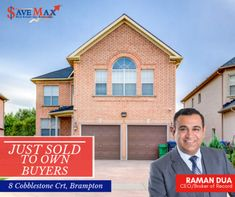 Another Property Sold to own buyers at 8 Cobblestone Crt, Brampton ! Call Save Max at & experience Save Max's promised results… Real Estate Office, Downtown Toronto, Kids Zone, Lobbies, Kid Spaces, Things To Sell, Entrees, Kids Rooms, Kid Rooms