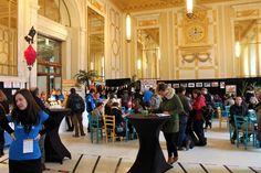 De reisbeurs Landencocktail vond in 2014 plaats op een heel mooie locatie: het indrukwekkende Centraal Station van Antwerpen.