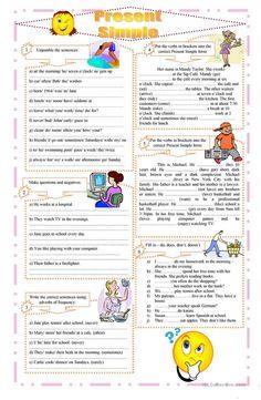 Present Simple exercises worksheet - Free ESL printable worksheets made by teachers