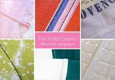 How to Make Flat Felled Seams | Sew4Home-Within the flat felled seam family there's the French seam, mock French seam, Hong Kong finish, overcast, overlock, and coverstitch. Each of these make the wrong side of the seam look as good as the right side. Some can only be made with a specialty machine, but the standard flat felled seam can be completed with your regular sewing machine. It takes a bit more time than a standard seam, and, as we mention so often in our tutorials, requires accuracy.