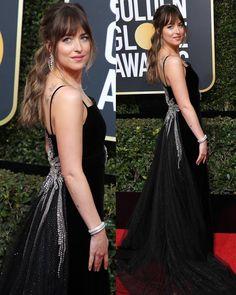 "476 Me gusta, 2 comentarios - Dakota Johnson Info (@dakotajohnsoninfo) en Instagram: ""NEW   Dakota on the red carpet at the @goldenglobes tonight, January 7th at The Beverly Hilton -…"""