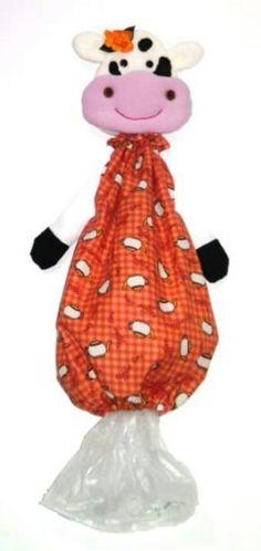 Guarda bolsas vaca naranja