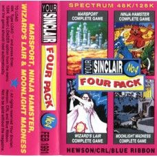 Your Sinclair Issue 62 Four Pack No. 4 Feb 1991 Covertape for ZX Spectrum