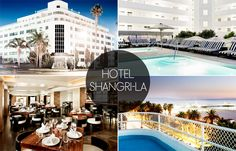 Want to stay here for 2 nights...for free? Follow Amazing Grass on Facebook for your chance to win! Hotel Shangri-La, Santa Monica