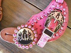 pink, bling and ostrich, even better