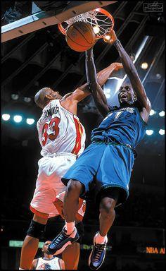 Kevin Garnett Minnesota Timberwolves Miami Heat Alonzo Mourning  two for one
