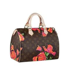 Louis Vuitton Speedy 30 Monogram Roses Canvas M48610