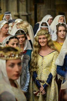 Europe medieval fashion