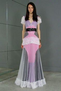 Balenciaga Resort 2008 Fashion Show - Kinga Rajzak