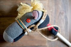 diy hobby horse for party