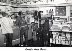 Lacey's Auto Parts, 1960
