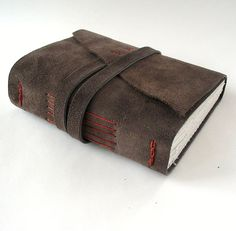 Lots of journals or sketchbooks. handmade