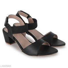 Others Bella Toes Women Block Heels Sandals_905 Black Material: Syntethic Leather Sole Material: PU Sizes:  IND-7 IND-6 IND-8 IND-3 IND-5 IND-4 Country of Origin: India Sizes Available: IND-8, IND-2, IND-3, IND-4, IND-5, IND-6, IND-7   Catalog Rating: ★4.1 (1205)  Catalog Name: Modern Graceful Women Heels & Sandals CatalogID_1090967 C75-SC1061 Code: 045-6835286-999