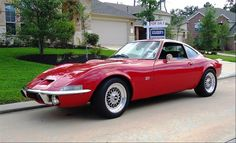 1969 Opel GT my favorite