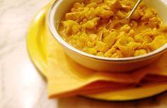 Mais prático, impossível. Nem por isso o frango ao curry deixa de ter o seu charme exótico. Traga para um pouco dos aromas e os sabores da Índia e viaje na cozinha!
