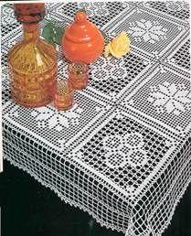 1000 Mailles № 1976 — Yandex. Crochet Fabric, Thread Crochet, Crochet Doilies, Crochet Flowers, Crochet Lace, Crochet Edging Patterns, Doily Patterns, Tablecloth Fabric, Crochet Tablecloth