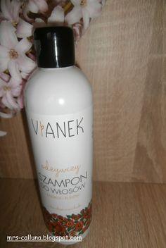 Natura i kosmetyki: Vianek szampon odżywczy zekstraktem zmiodunki - czy stał się moim hitem (recenzja)