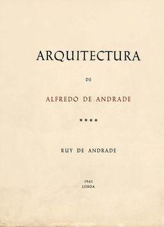 ALFREDO DE ANDRADE - ANDRADE (Rui de)