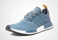 Three new colorways of the adidas NMD R1 will be available for October 2016 featuring added suede heels, mesh, and Boost cushioning. Details here: