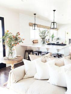 Living room summer refresh