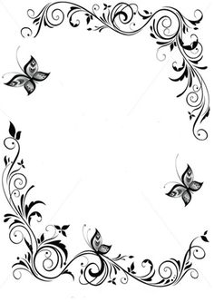 Japanese border designs cliparts co page borders, borders and frames, rosemaling pattern, vector Boarder Designs, Page Borders Design, Borders For Paper, Borders And Frames, Borders Free, Motif Floral, Floral Border, Border Embroidery, Embroidery Patterns