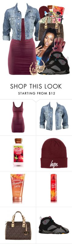 """Untitled #85"" by soooteresa ❤ liked on Polyvore featuring H&M, Modström, Hype, MICHAEL Michael Kors and BP."