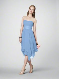 Bridesmaid dress, light green, black waistband?