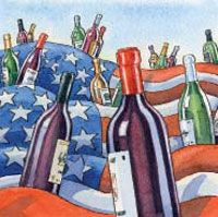 #USA : Every one of the 50 states now makes wine, even Hawaii and Alaska. North Dakota was the last to succumb