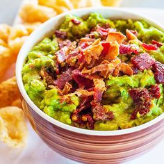 Game-Changing Guacamole Recipes | BACON | We've been through this over and over again – bacon makes everything better, and that definitely includes guac.