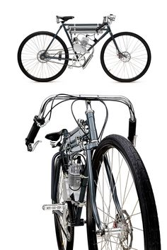 Meet the Screaming Pigeon: a motorized bicycle with a hint of board track styling and a top speed of 70 kph. Built in Australia by Dicer Bikes, it's based on the iconic Flying Pigeon bike, with a beautifully integrated 50cc single motor, modern disc brakes and a classy Brooks saddle. Just the thing for popping down to the shops on?