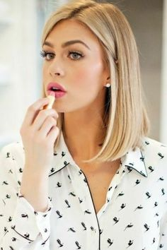 lange Haarmodelle - Straight Long Bob - Sick of Having Long Hair? Check out These Long Bob Inspos. Blonde Bob Hairstyles, Diy Hairstyles, Straight Hairstyles, Hairstyle Ideas, Spring Hairstyles, Hairstyles 2018, Blonde Hair Cuts Medium, Medium Hair Styles, Long Hair Styles 2018