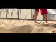 Beach Volley Training - WarmUp with MiniLoop Band - YouTube