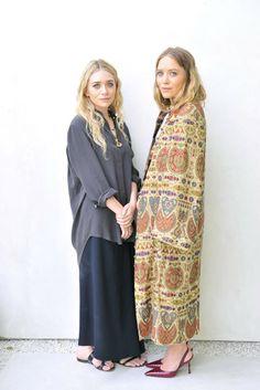 Ashley and Mary-Kate Olsen [Photo by Donato Sardella]
