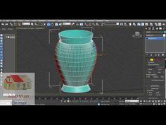 3Ds Max Basit Vazo Yapımı - YouTube