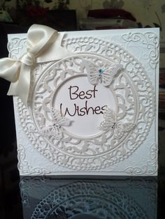 Card made with tonic dies