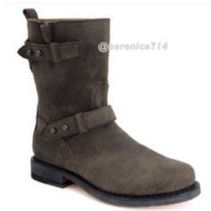 ✂️final price✂️ Rag & Bone moto boots Suede leather, Worn good condition, size 9 true to size. rag & bone Shoes Combat & Moto Boots