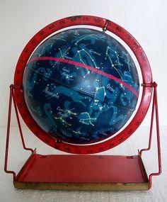 1950s 6 Inch Celestial Globe
