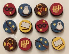 Harry Potter Cupcakes by ClaresCakes, via Flickr