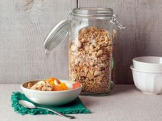 Get this all-star, easy-to-follow Granola recipe from Alton Brown