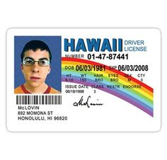 """""""McLovin """" Stickers by ghjura Mclovin Superbad, Snapchat Stickers, 25 Years Old, Transparent Stickers, Wall Collage, Alter, Funny Stickers, Favorite Tv Shows, Vinyl Decals"""