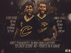 See this Instagram photo by @cavs • 79.7k likes Cavs making #NBAFinals history 41 points at a time