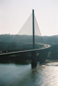 Brest - Le pont de l'Iroise | Finistère Bretagne | #myfinistere