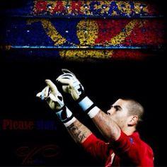 Victor Valdes FC Barcelona Valencia, My Superhero, Fc Barcelona, Football, Soccer, Futbol, American Football, Soccer Ball