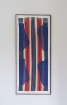 Claude Viallat, Archival pigment print on Vélin d'Arches