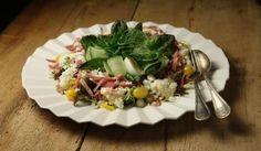 Pääsiäisen munasalaatti   #maajakotitalousnaiset #resepti #savulammas #salaatti #muna